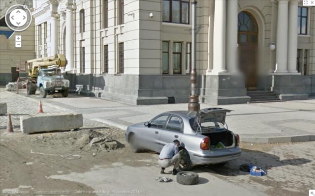 Lviv, pneu