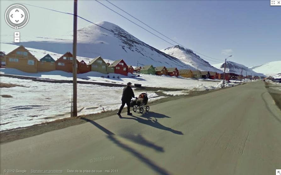 longyearbyen poussette