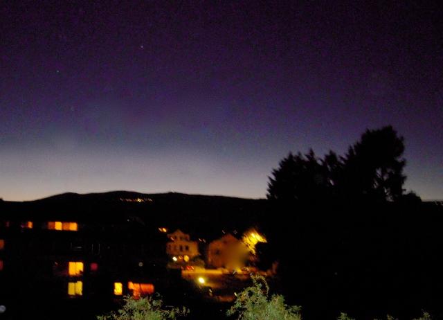 Yverdon by night