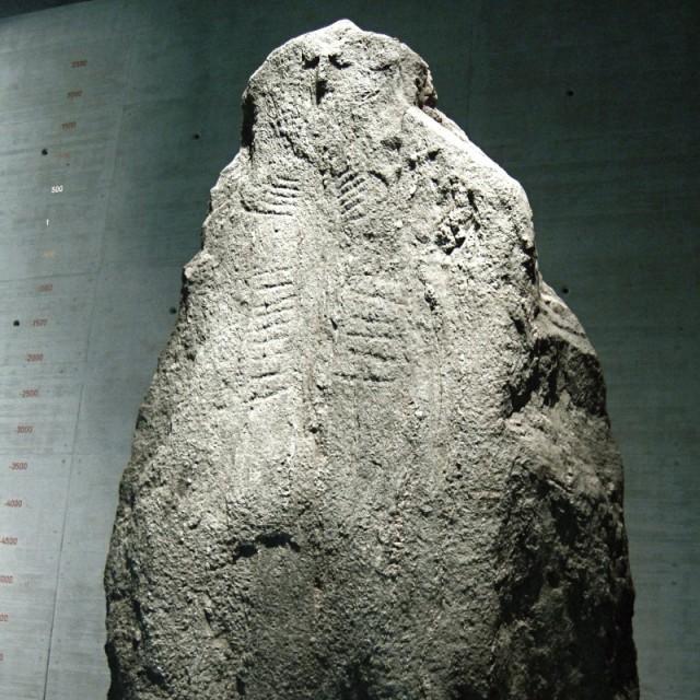 statue menhir Latenium